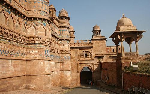 Gwalior castle, India