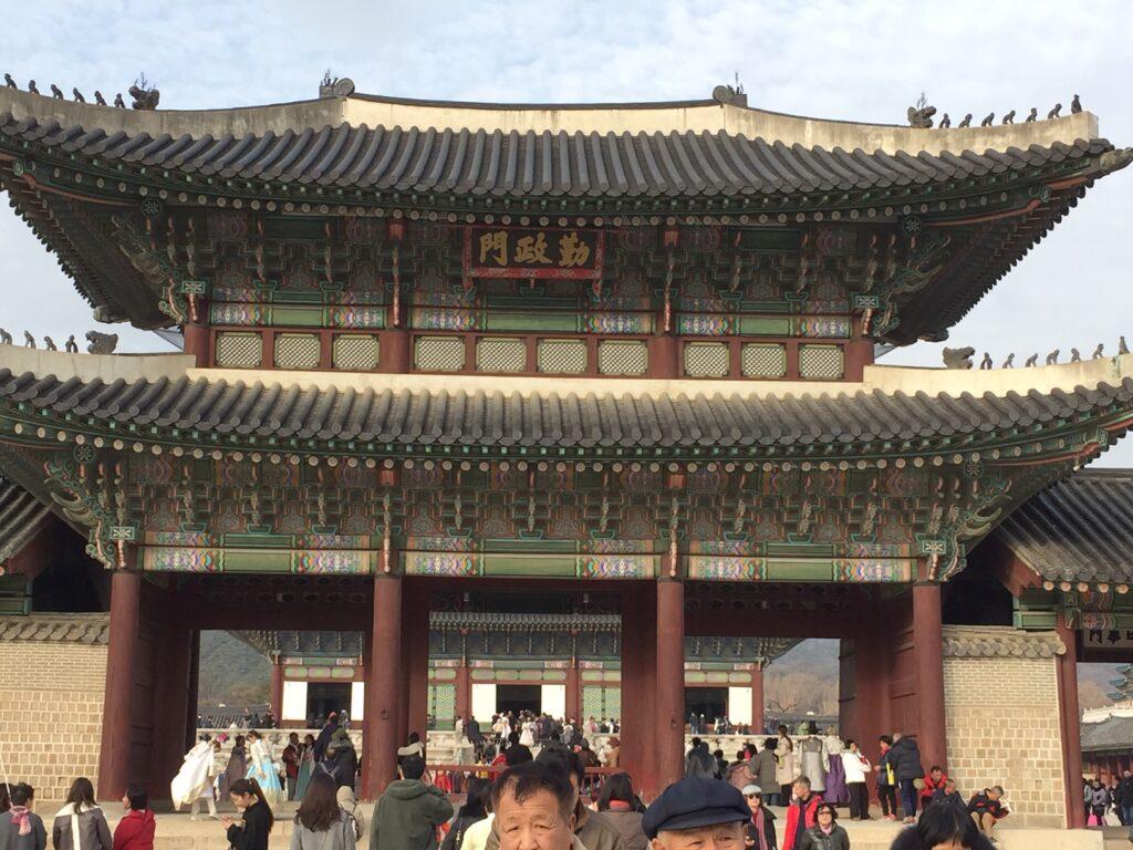 Gyeongbokgung Palace in Seoul.