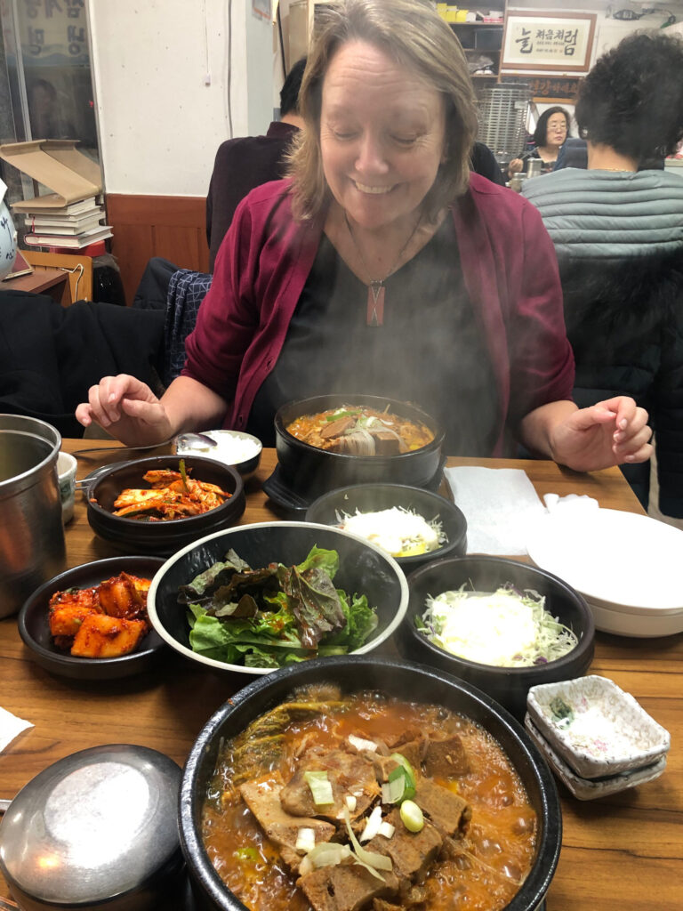 Haejang-guk, the unofficial hangover soup of Seoul.
