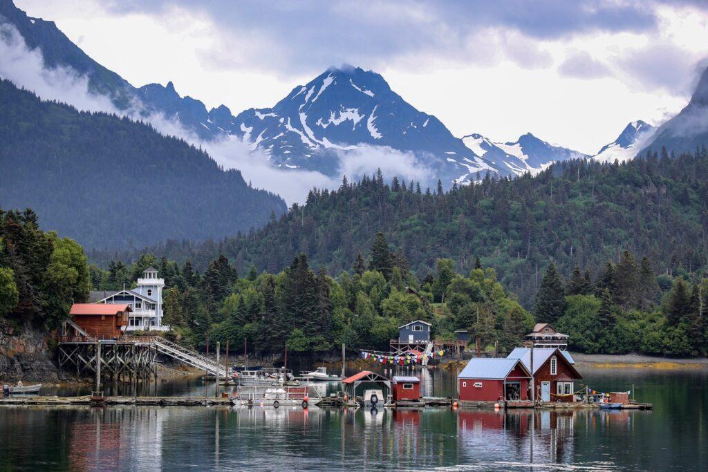 Halibut Cove, Alaska.
