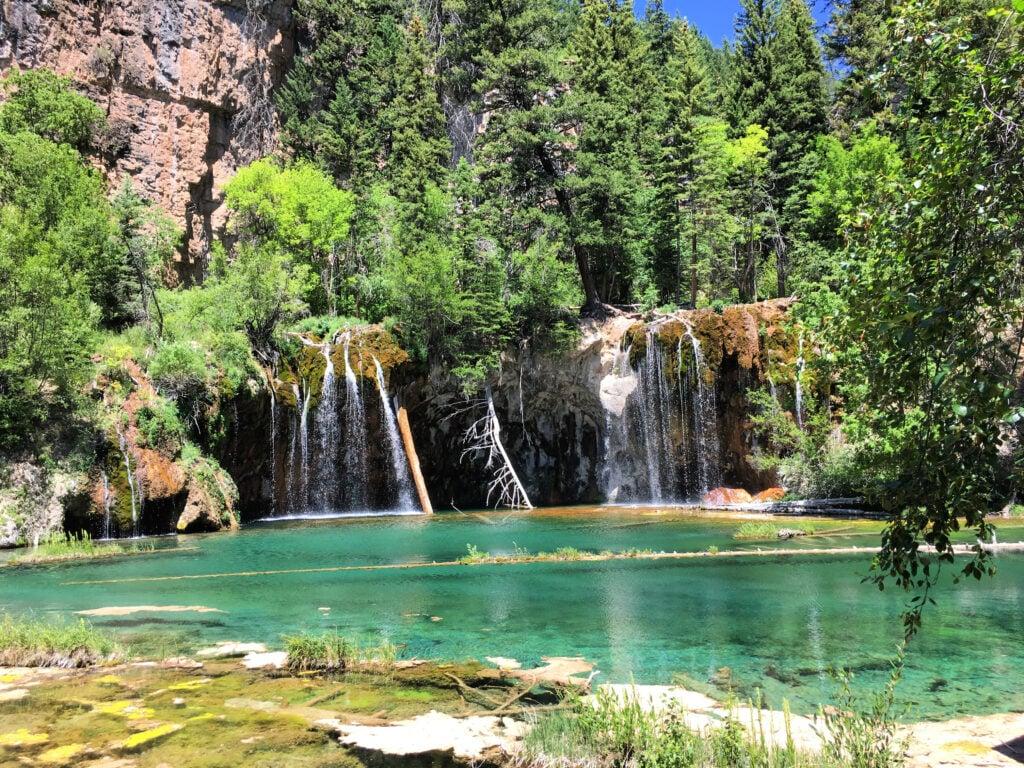 Hanging Lake in Glenwood Canyon, Colorado.