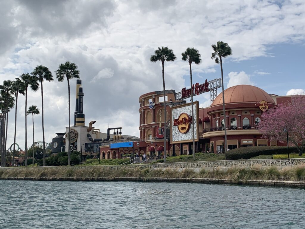 Hard Rock Cafe and Resort at Universal in Orlando.