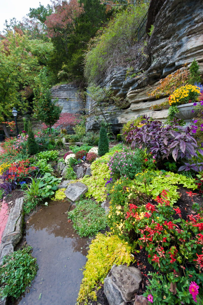 Harding Spring in Eureka Springs.