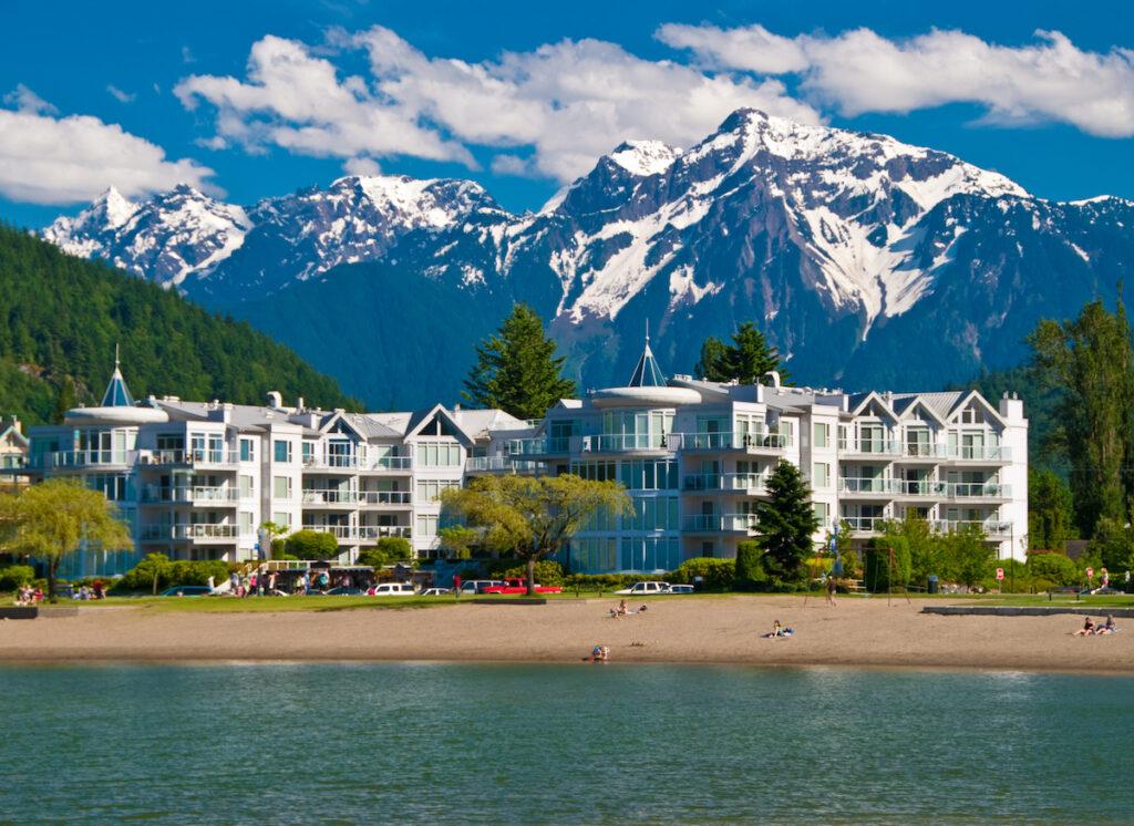 Harrison Hot Springs in British Columbia, Canada.