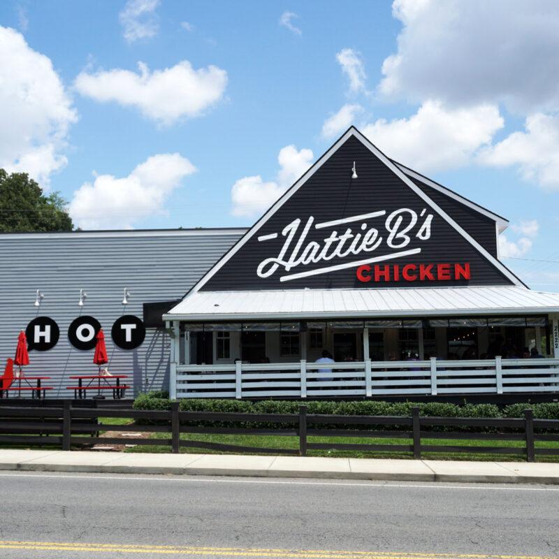 Hattie Bs Hot Chicken Restaurant Building.
