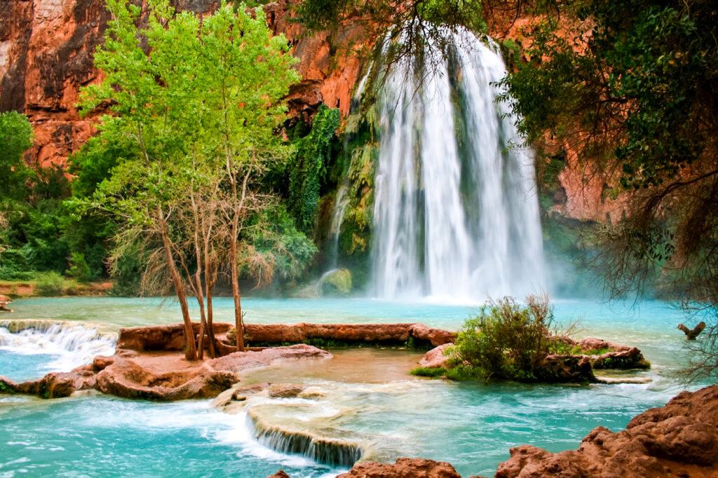 Havasu Falls in Arizona