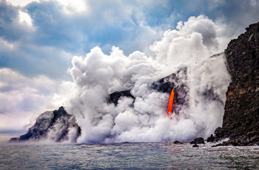 Hawaii Volcanoes National Park in Hawaii.