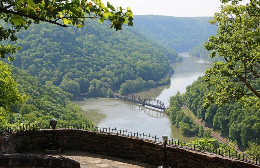 Hawks Nest State Park in West Virginia.
