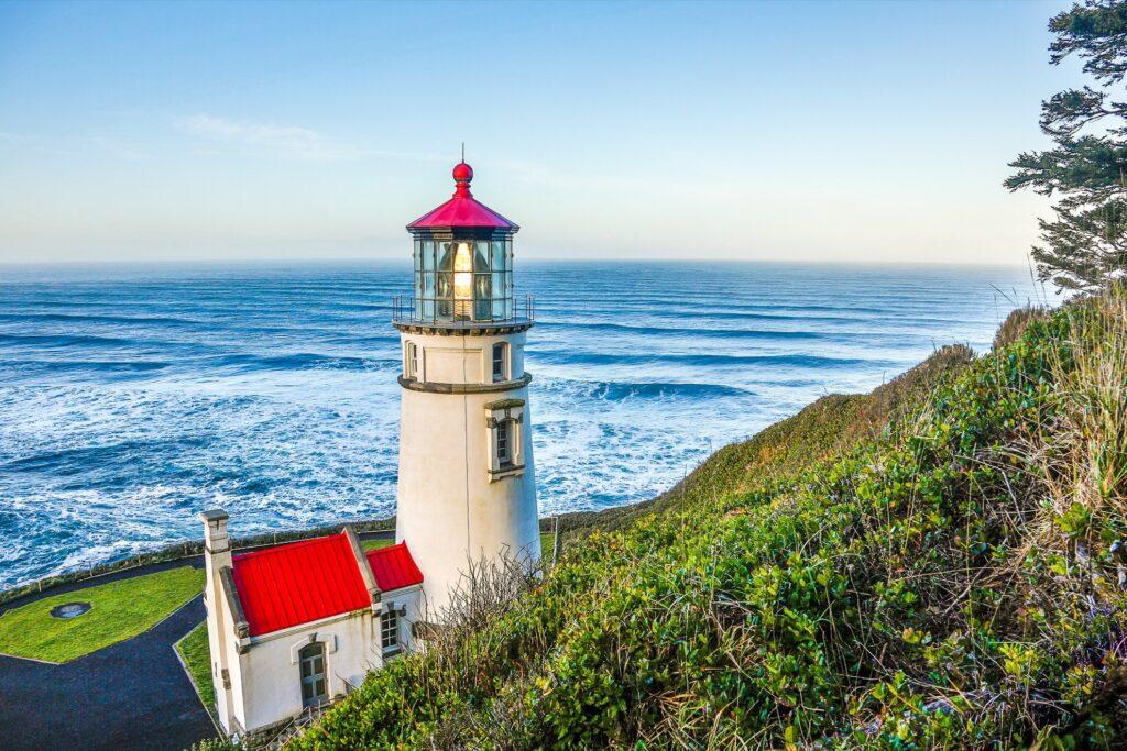 Heceta Head Lighthouse in Florence, Oregon.
