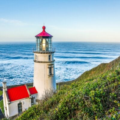 Heceta Head Lighthouse in Florence, Oregon.