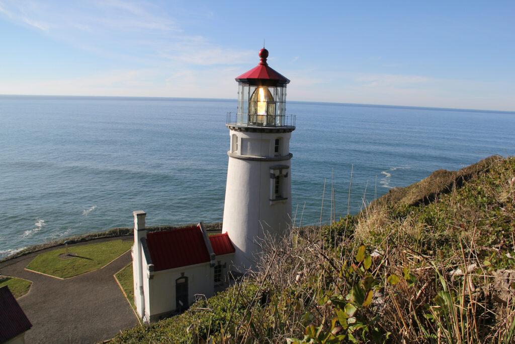 Heceta Head Lighthouse in Oregon.