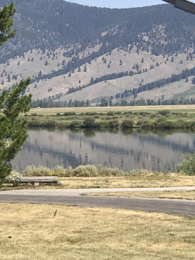 Henrys Lake State Park in Idaho.