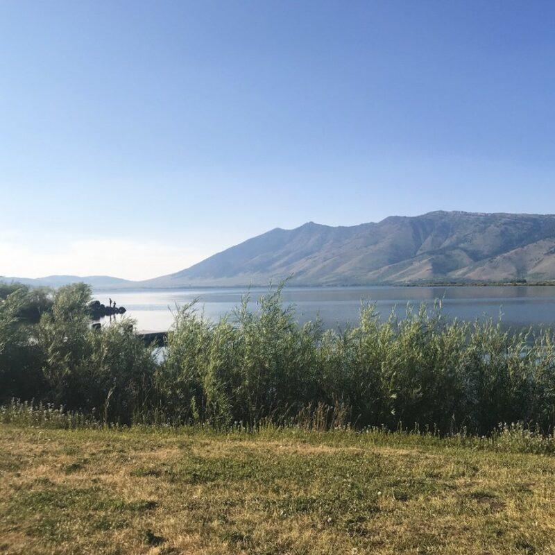 Henrys Lake State Park on the Idaho/Montana state border.
