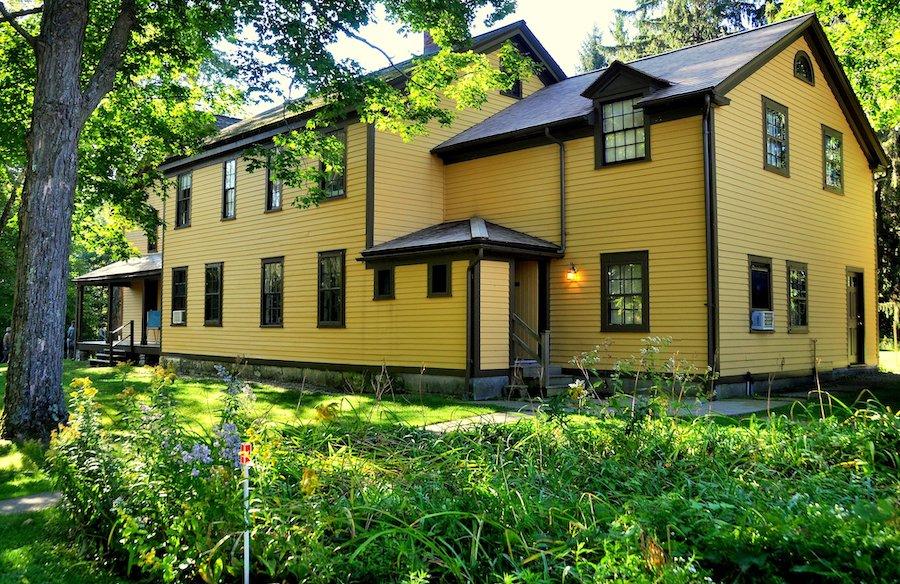 Herman Melville's house in Pittsfield, Massachusetts.