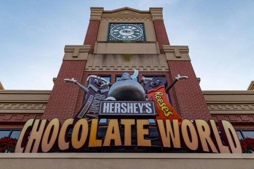 Hershey Chocolate World in Pennsylvania.