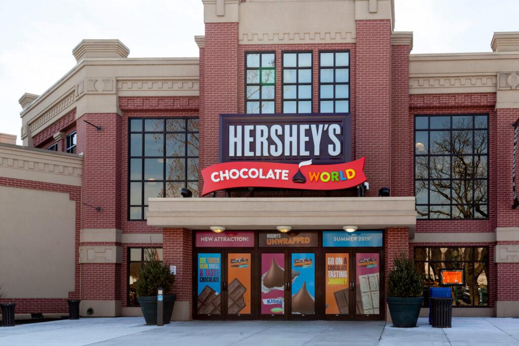 Hershey's Chocolate World in Hershey, Pennsylvania.