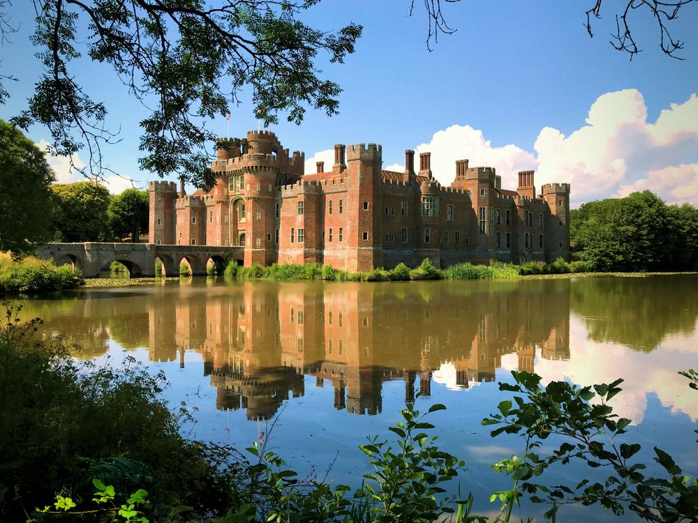 Herstmonceux Castle in the UK.
