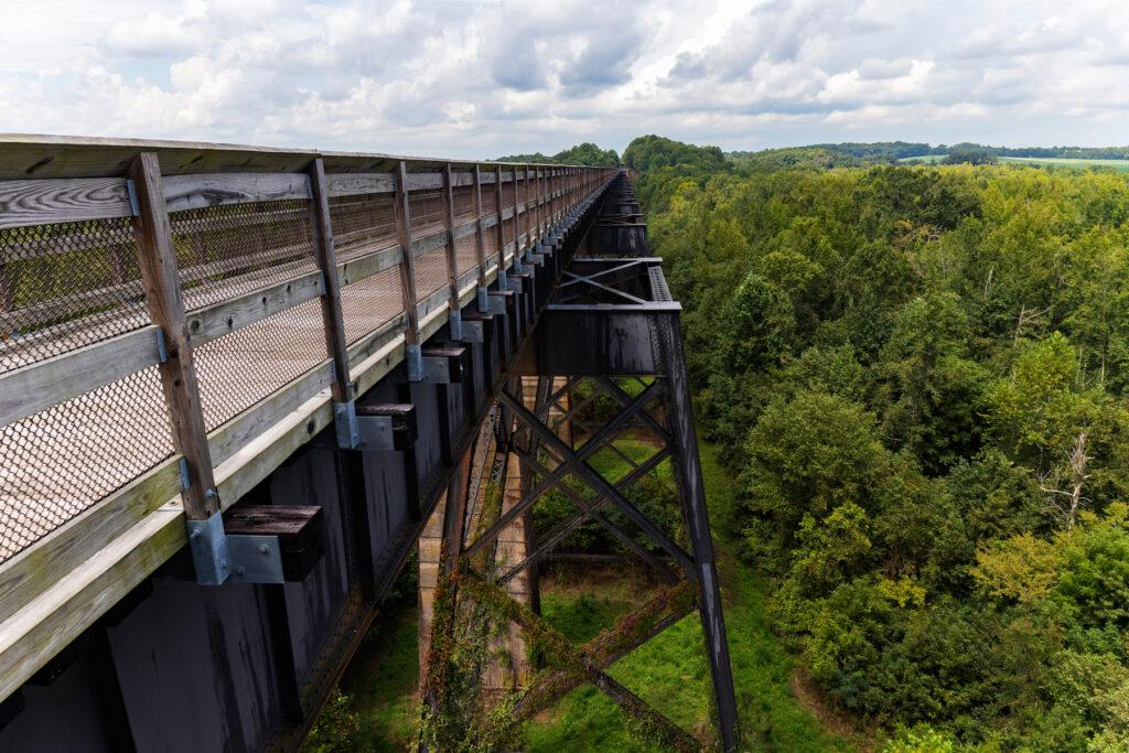 High Bridge Trail State Park in Virginia.