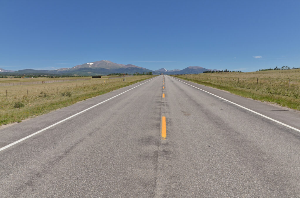 Highway 285 from Fairplay to Denver.