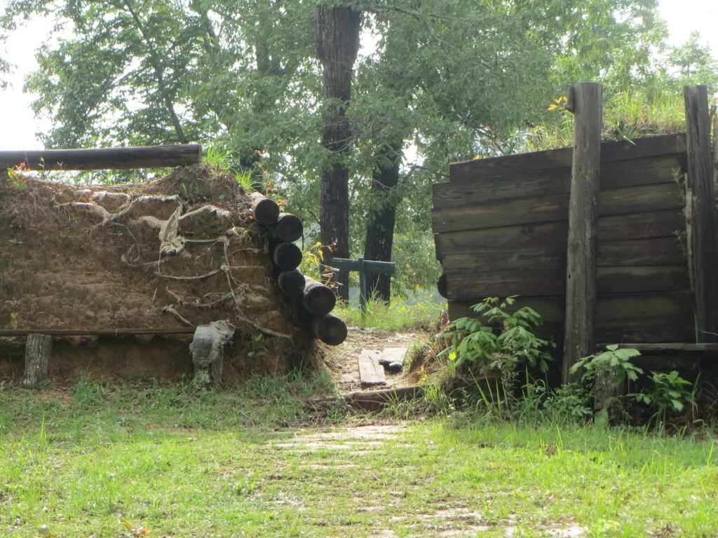 Historic Blakeley State Park in Spanish Fort, Alabama.