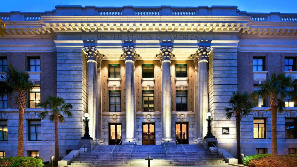 Historic Le Meridien Hotel, Tampa, FL.