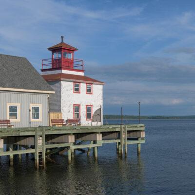 Historic lighthouse in Pictou, Novia Scotia.