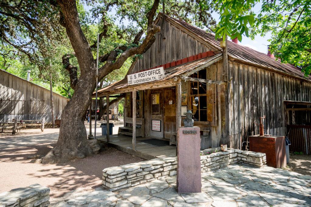 Historic Luckenbach, Texas.