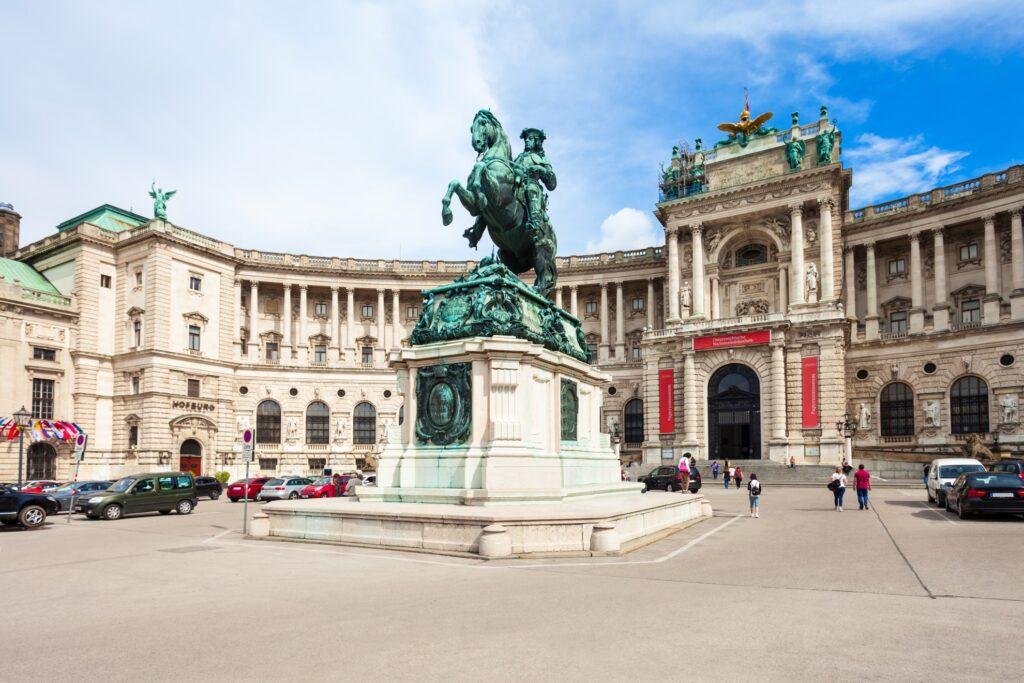 Hofburg in Vienna.
