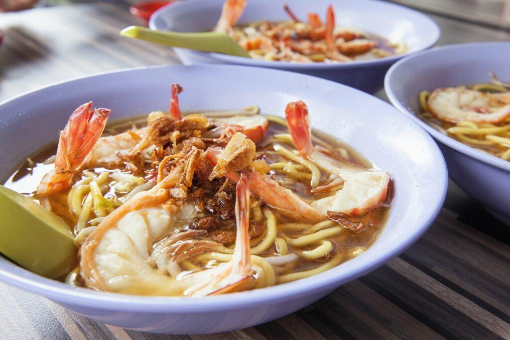 Hokkien prawn mee from Singapore.
