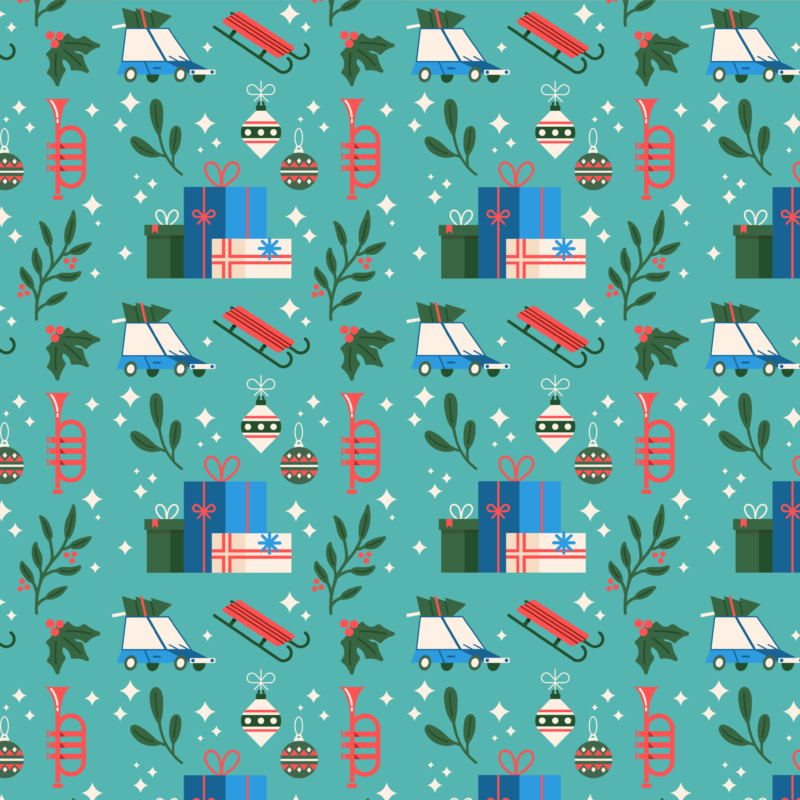 Holiday graphic