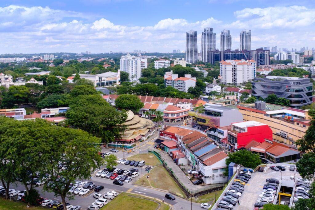 Holland Village in Singapore.