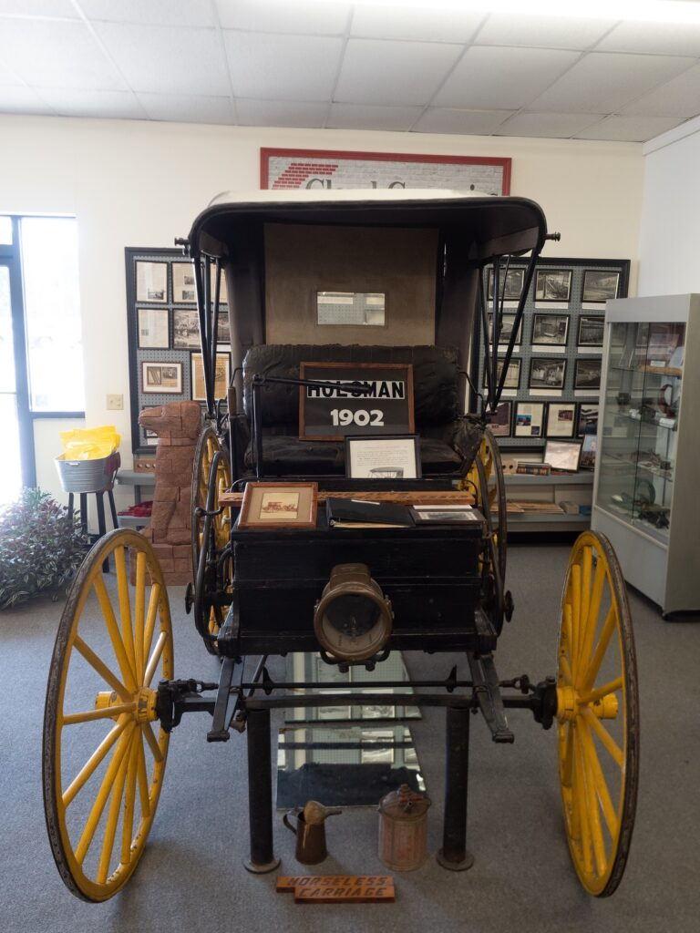 Holsman Horseless Carriage In The Cloud County Historical Museum.