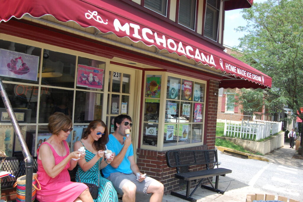Homemade Ice Cream, La Michoacana, Kennett Square.