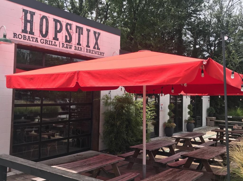 Hopstix Brewery near Atlanta, Georgia.