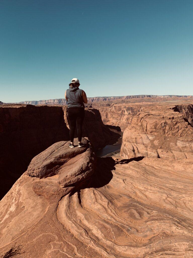 Horseshoe Bend in Page, Arizona.