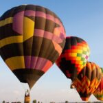 Hot air balloons in Billings, Montana.