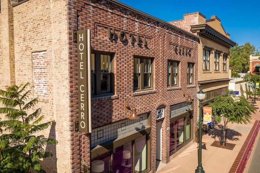 Hotel Cerro in San Luis Obispo, California.