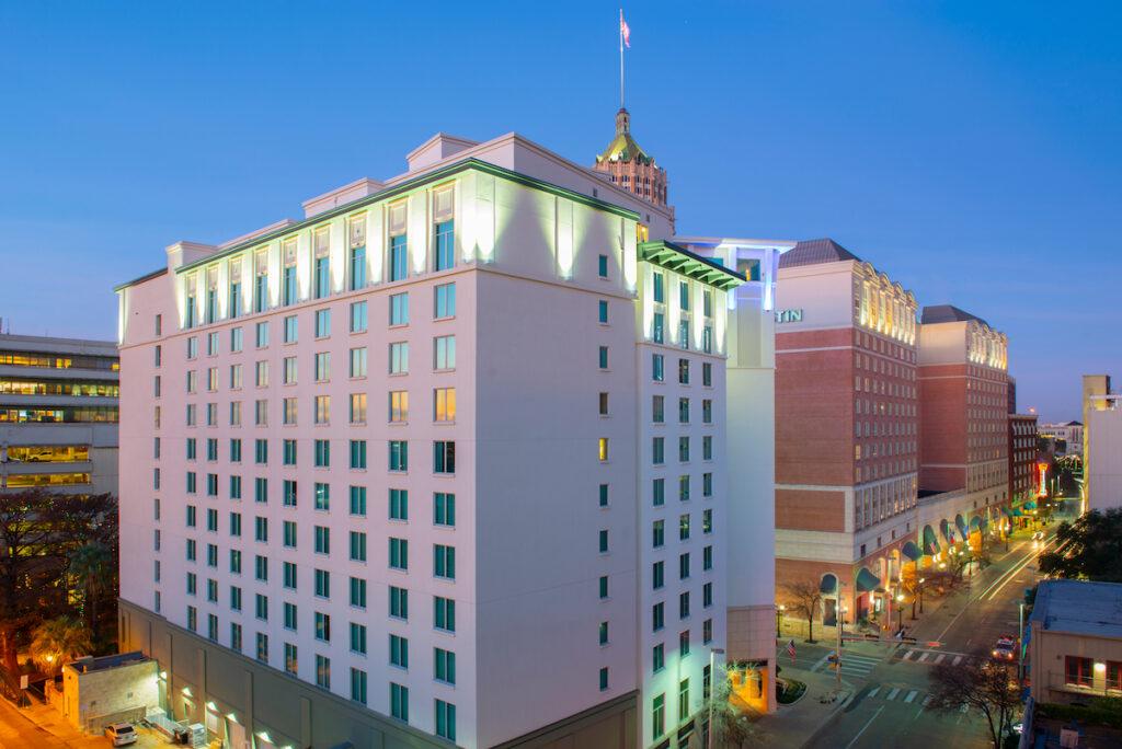 Hotel Contessa Luxury Suites On The Riverwalk in San Antonio.