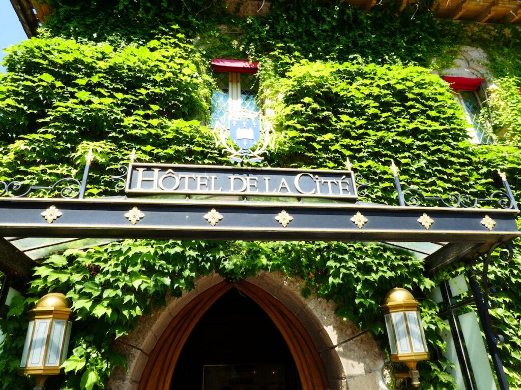 Hotel de la Cite in Carcassonne.
