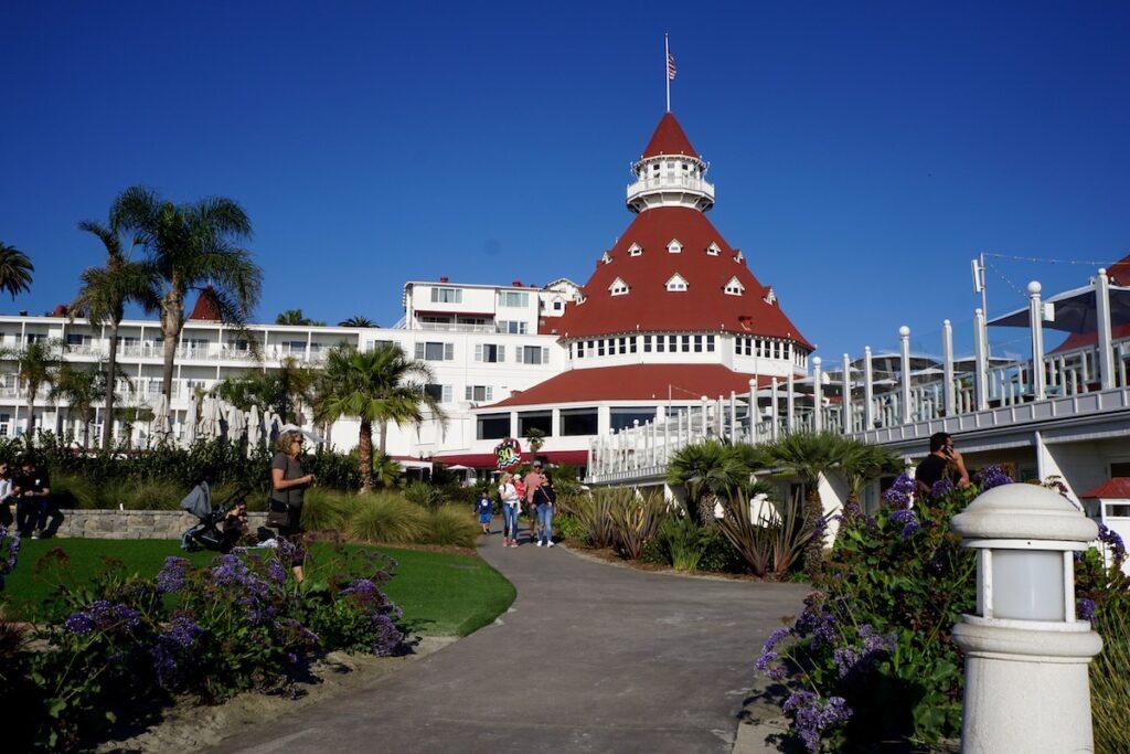 Hotel del Coronado in California.