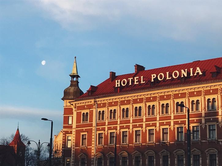 Hotel Polonia facade