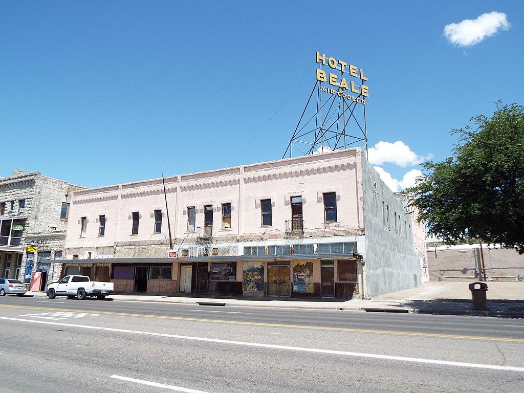 Hotele Beale in Kingman, Arizona.