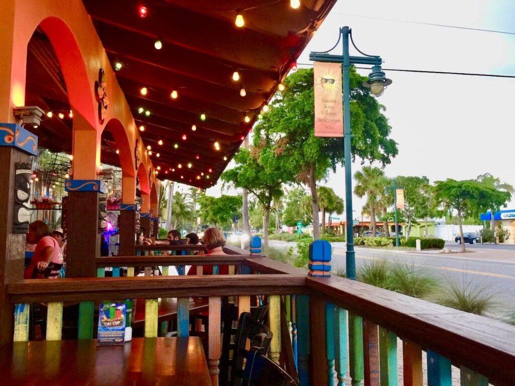 Hub Baja Grill in Siesta Key, Florida.