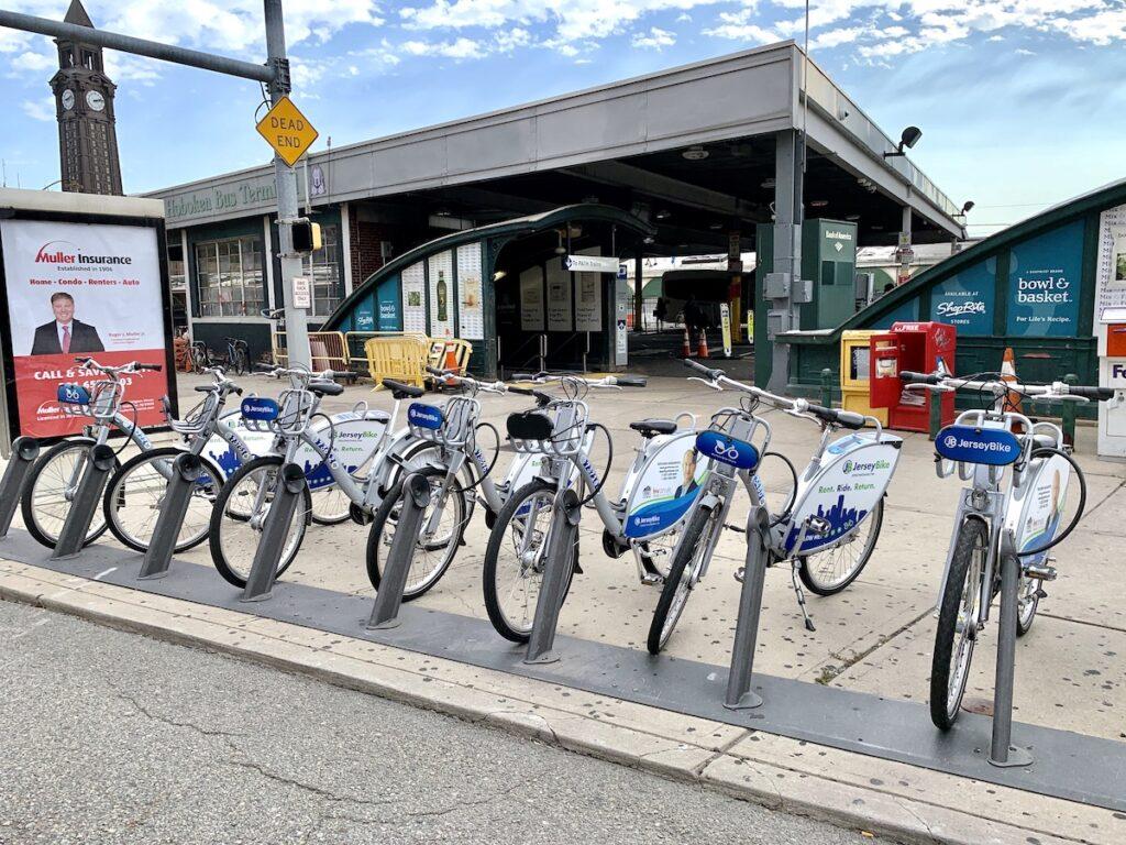 Hudson Bike Rentals in Hoboken.