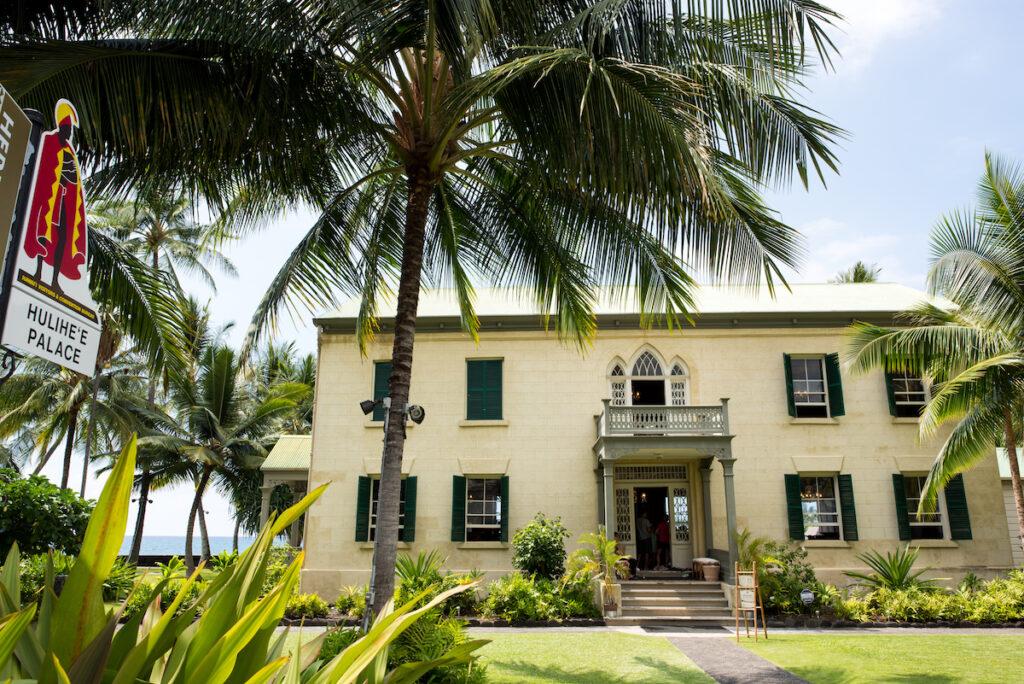 Hulihee Palace in Kailua-Kona, Hawaii.