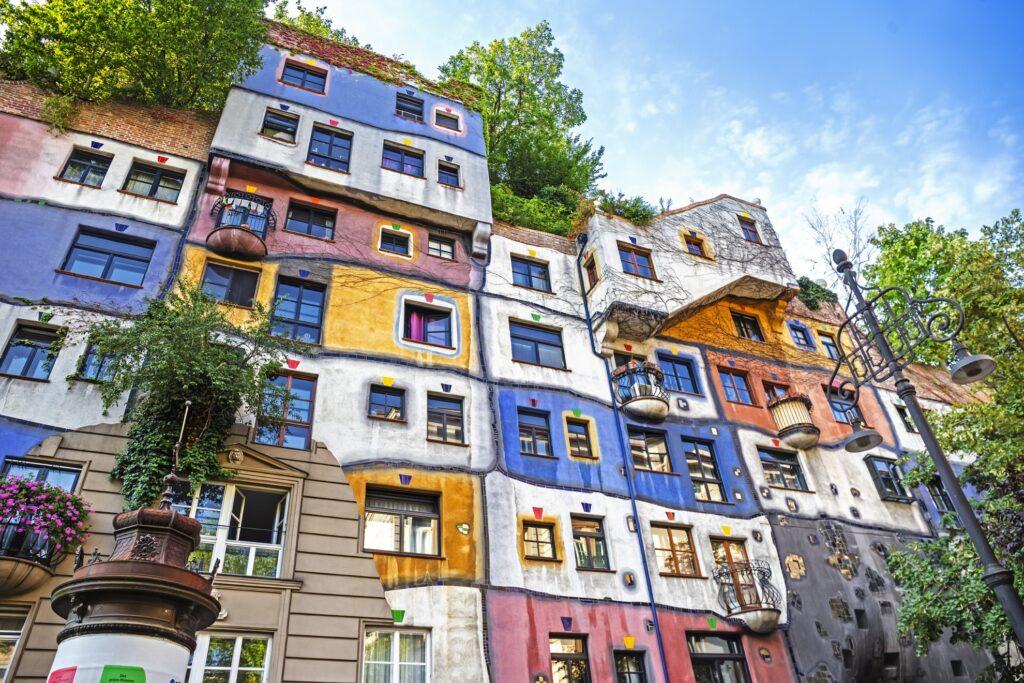 Hundertwasserhaus in Vienna.