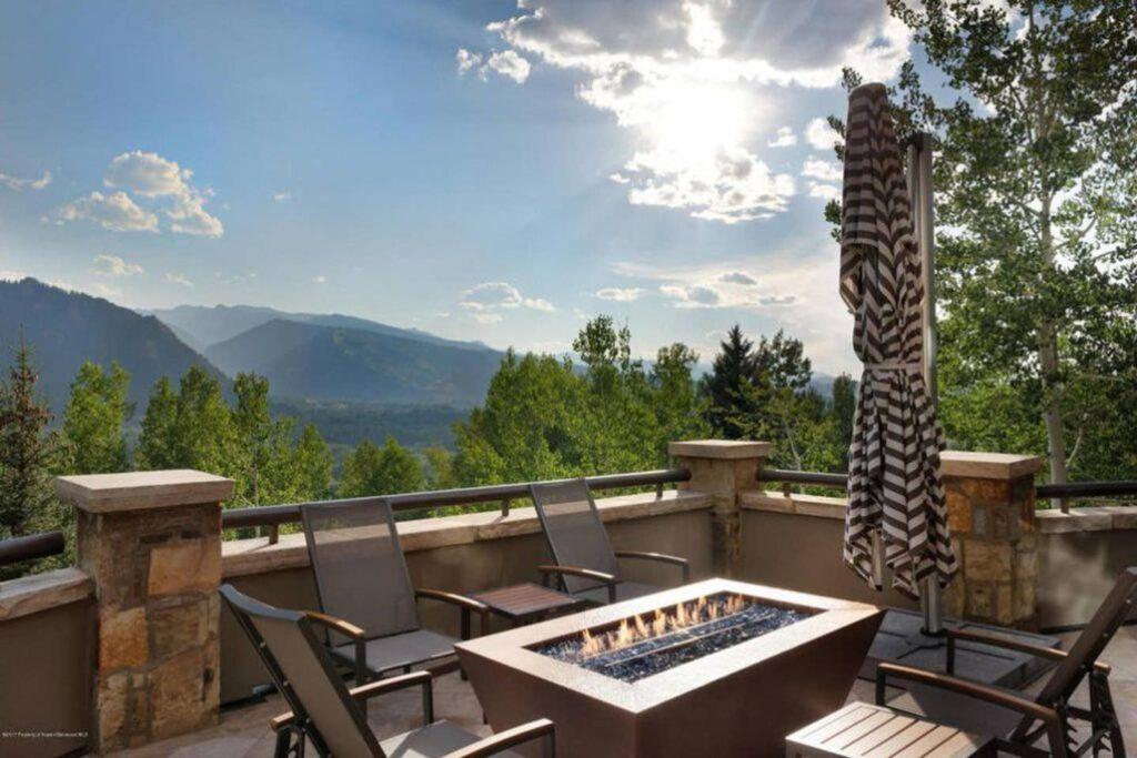 Hunter Creek Hillside Retreat in Aspen.