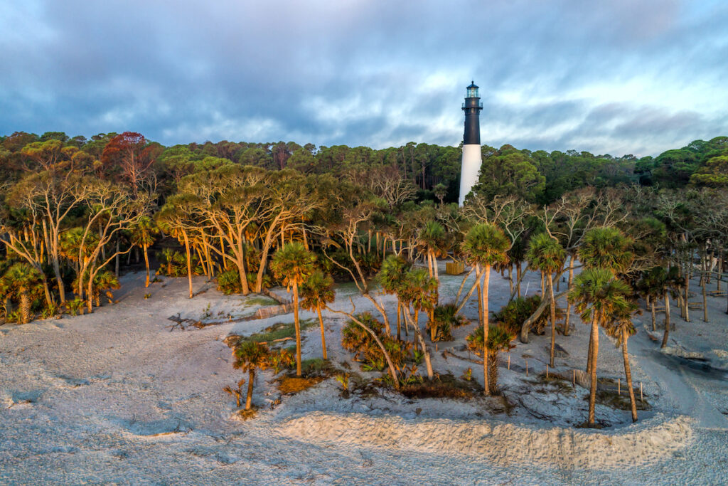 Huntington Island State Park in South Carolina.