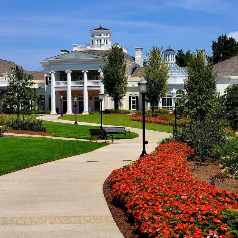 Huntsville Botanical Gardens in Alabama.