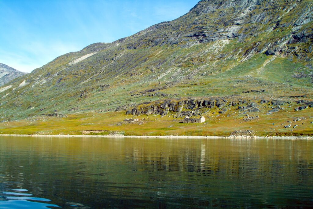 Hvalsey Fjord Church in Greenland.